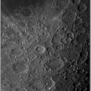 Moon equator to south pole, ZWO ASI290MM, 20201106.,                                Geert Vandenbulcke