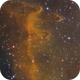 IC 1848 - Soul Nebula SHO (closeup),                                David Andra