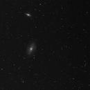 Messier 81 + Messier 82 in Ha,                                Sigga