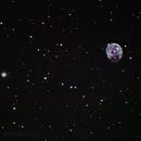 NGC 255 Barred Spiral Galaxy & NGC 246 Skull Nebula,                                AnakChan