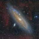 M31 and HII Clouds,                                Deep Sky Team