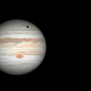 Ganymede's Eclipse,                                Ecleido  Azevedo