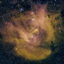 Running Chicken Nebula (IC 2944),                                Bruce Rohrlach