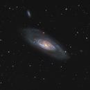 Messier 106 - HaLRGB from the UK,                                Steve Milne