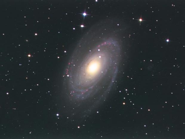 M81 L RGB Ha,                                Станция Албирео