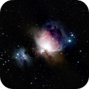 M 42 - Orion and Running Man Nebula,                                André Wiget