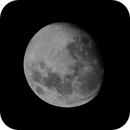 The south up, 92.5% illuminated, waxing, gibbous Moon,                                Niall MacNeill
