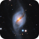 NGC 3718-  A Beautiful Winter Galaxy,                                Chris R White