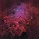 The Flaming Star Nebula - IC 405,                                Theodore Arampatz...