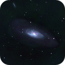 M106 short exposure 3X Drizzle downsampled in PS,                                David Redwine