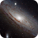 M31 Andromeda Galaxy (close up),                                Francesco