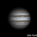 Flying around Jupiter (22:14-00:09, 04-05 feb 2015),                                Star Hunter