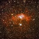 NGC 7635 Nébuleuse de la Bulle dans Cassiopée,                                berngon