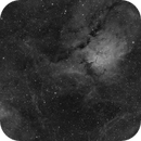 Sh2-86 and area around NGC6823 in Vulpecula (H-Alpha),                                Graeme Coates