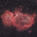 IC 1848 (Soul nebula ) L-Enhance + Ha,                                Lee