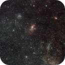 Bubble Nebula & M 52 Wide Field (280mm),                                star-watcher.ch
