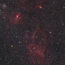 Sharpless 2-157, 158, 159, 161, 162, Messier 52, Markarian 50, NGC 7510, King 19, LDN 1225, 1226, 1227, 1229, 1230, 1231, 1232,                                Dean Jacobsen