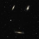 M65 M66 NGC3628 Leo Triplet (Triplet du Lion),                                Guillaume Poulizac