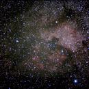 NGC 7000 am herbstlichen Himmel,                                Jürgen Burghard
