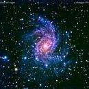 ngc6946 galassia nel cigno                                                       distanza 10 milioni   A.L.,                                Carlo Colombo