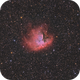Pacman - NGC281 - HaRGB,                                Arno Rottal