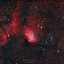 Sh2-101 - Tulip Nebula HOO & Cygnus X-1 bow shock,                                FedericoDS