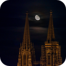 St. Peter's Cathedral and the waning moon,                                Markus A. R. Lang...