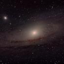 Andromeda Galaxy (M31),                                chromat