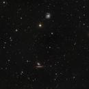 M99, NGC4298 and NGC4302,                                Davide Manca
