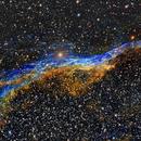 Veil nebula,                                Pyrasanth