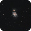 M 51 - The Whirlpool Galaxy,                                Gérard Nonnez