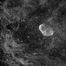 CRESENT NEBULA,                                Blue Moon Observa...