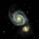 M51 Whirlpool Galaxy,                                Skipper71