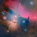 B33 and Flame Nebula Mosaic in LHaROIIIGB,                                Cfosterstars