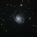 M101 LRGB,                                Станция Албирео
