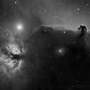 Horsehead Nebula,                                Mark Striebeck