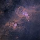 NGC3576 Statue of Liberty Nebula,                                jbradsh