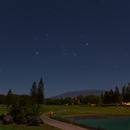 Orion Rising Over Maunakea,                                Wei-Hao Wang
