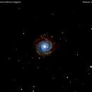ngc3938  galassia nell'orsa maggiore                                          distanza  50 milioni  A.L.,                                Carlo Colombo