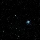 M101 a Spiral Galaxy in Ursa Major,                                RonAdams