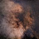 M11 and the dark nebula complex B110,                                Martin Lysomirski
