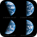 Solstices and Equinoxes of 2018 from Himawari8,                                andrealuna