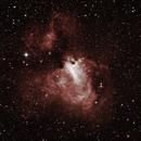 M17 Omega Nebula 24-07-2020,                                Wagner