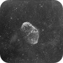 NGC 6888 - hydrogen alpha (only stack) - NO flat, bias, darks,                                Chris Klein
