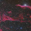 Nebulae NGC 6960, triangle of Pickering and company.,                                Alberto Pisabarro