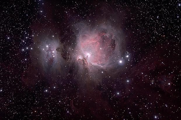 The Orion Nebula,                                wei-hann-Lee