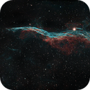 A Study of the Cygnus Loop - Part 3 of 4 - NGC 6960 - The Witch's Broom in the Western Veil,                                Timothy Martin & Nic Patridge
