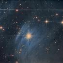 NGC 1435 (Merope Nebula ,Pleiades star cluster),                                John Leader