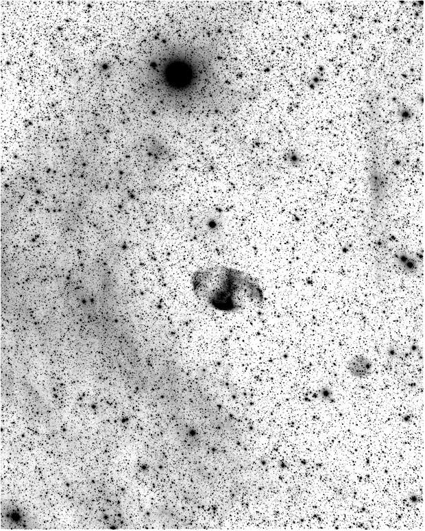 MWP1 (Methuselah Nebula, PN G080.8-10.6) and ALV1 (Alves 1, PN G079.8-10.2) ,                                snakagawa
