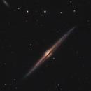 The Needle Galaxy, NGC 4565 in LRGB,                                Bogdan Borz